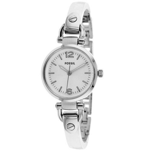 628-849 - Fossil Women's Georgia Mini Quartz Acrylic Bangle Bracelet Watch