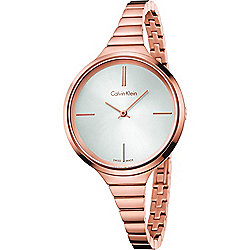 Calvin Klein Women's Lively Swiss Made Quartz Stainless Steel Bracelet Watch
