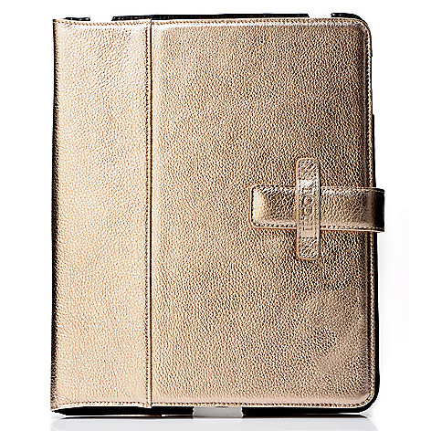 704-101 - Bodhi Pebbled Leather iPad 1 Easel/Case