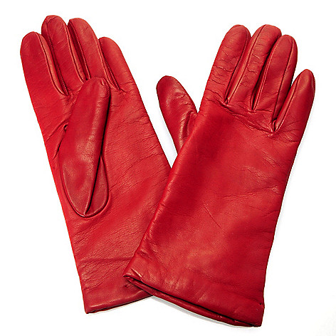 704-355 - Brooks Brothers Cashmere Lined Lamb Leather Gloves