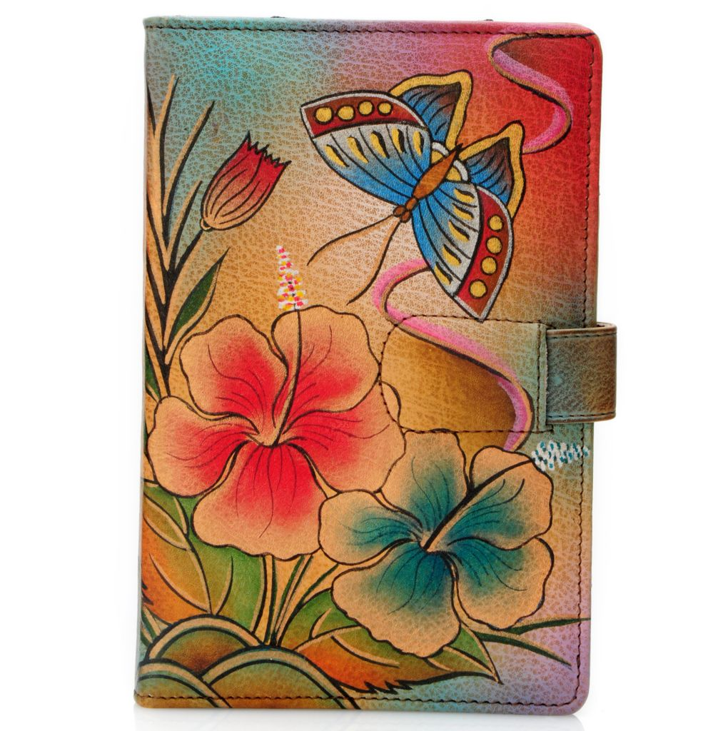 704-388 - Anuschka Hand-Painted Leather E-Reader Cover