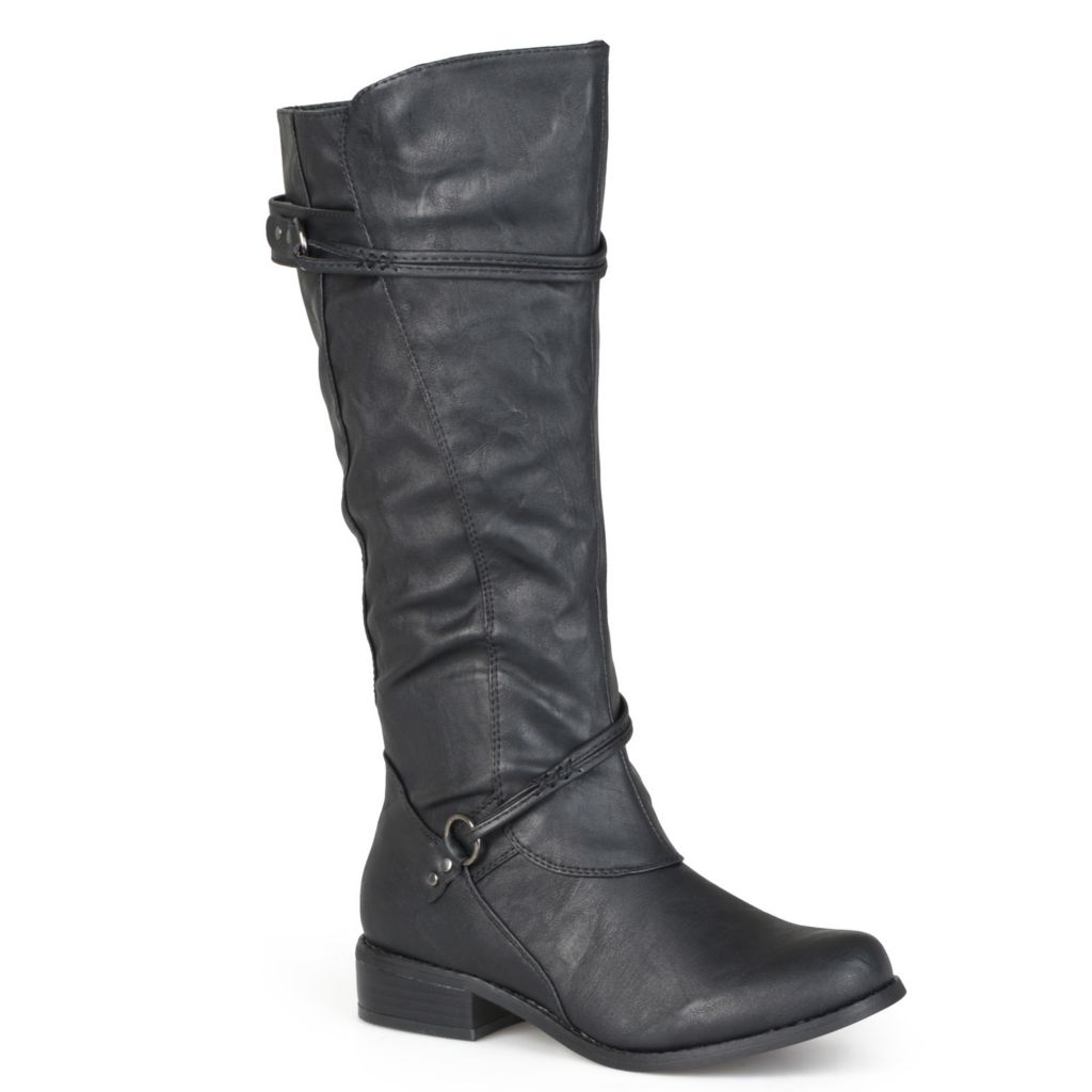 706-778 - Journee Collection Women's Buckle Accent Tall Boots