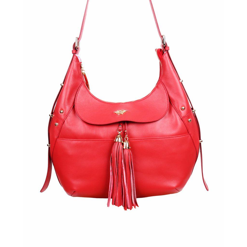 "709-341 - KIS® Fashions ""Pat"" Hobo Style Tote Handbag"