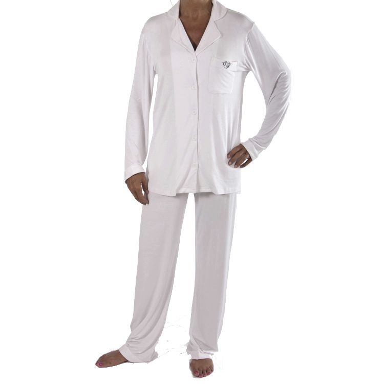 709-349 - KIS® Fashions Women's Button Down Long Sleeve Pajama Set