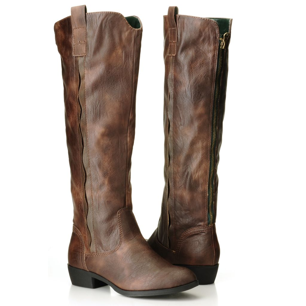 709-576 - MIA Back-Zip Tall Riding Boots
