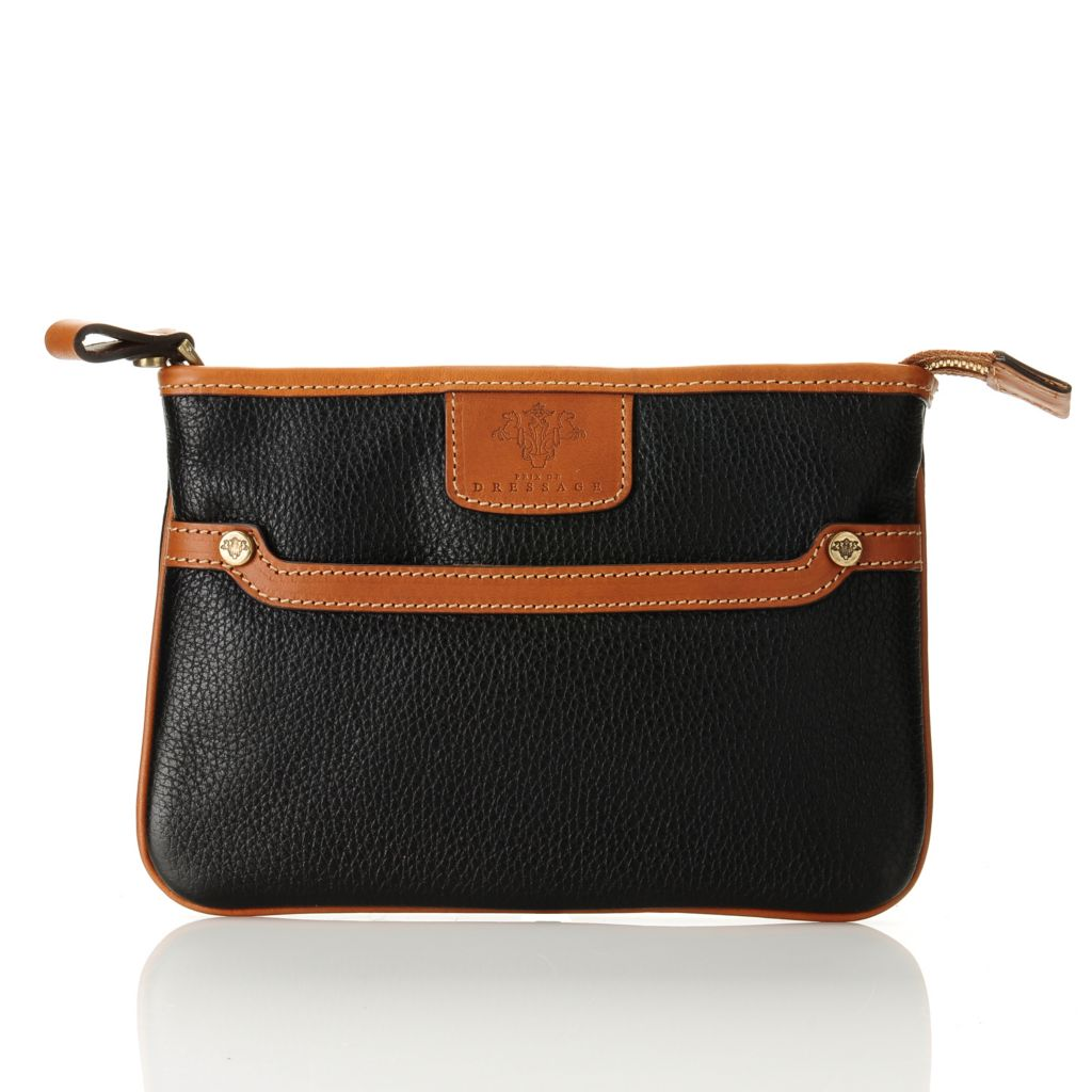 709-940 - PRIX DE DRESSAGE Leather Cosmetic Pouch