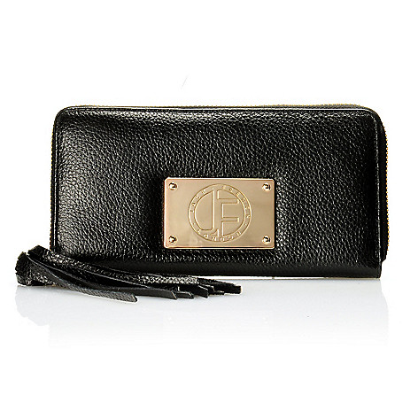 710-019 - Jack French London Leather ''Motcomb'' Zip Around Wallet