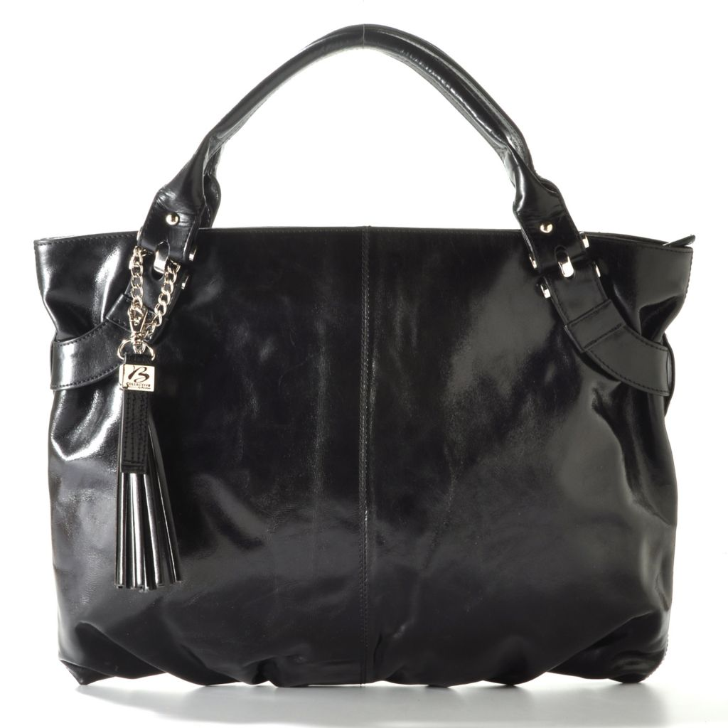 "710-026 - Buxton ""Messina"" Tassel Leather Tote Bag"
