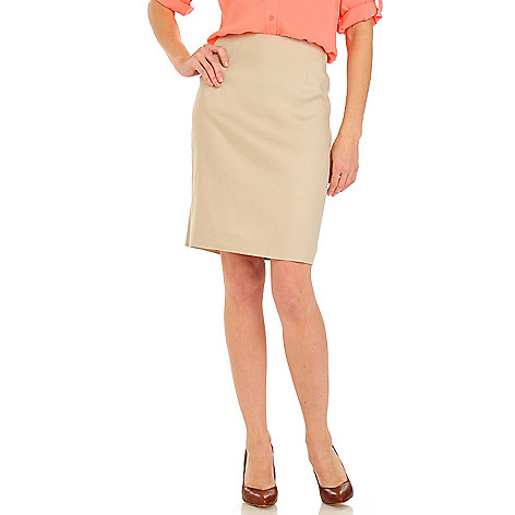 710-086 - Brooks Brothers® Linen Pencil Skirt