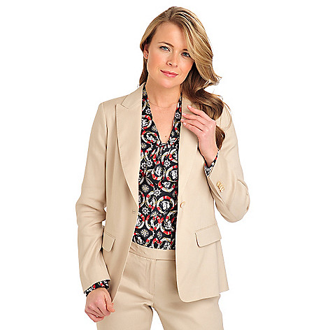 710-089 - Brooks Brothers® Linen One-Button Suit Jacket