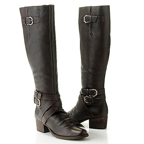 710-502 - Matisse® Leather Buckle Detailed Riding Boots