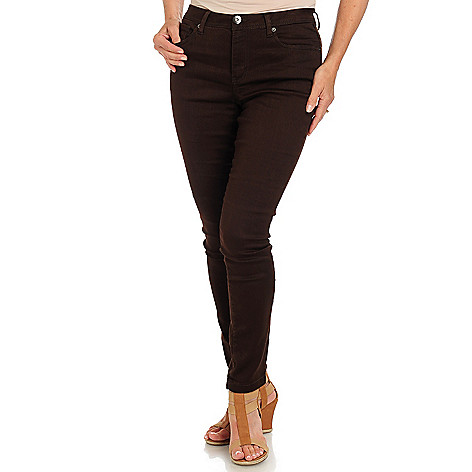 710-731 - Baccini Five-Pocket Stretch Sateen Pants