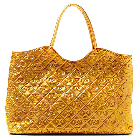 710-832 - Annabelle ''Giselle'' Pineapple Design Quilted Tote Bag