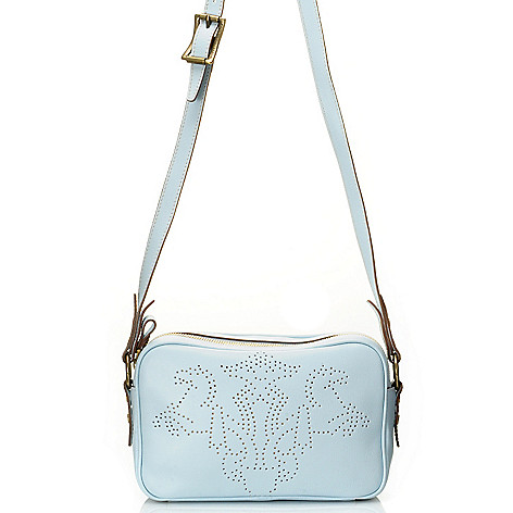 710-966 - PRIX DE DRESSAGE Leather ''Pride'' Cross Body Bag