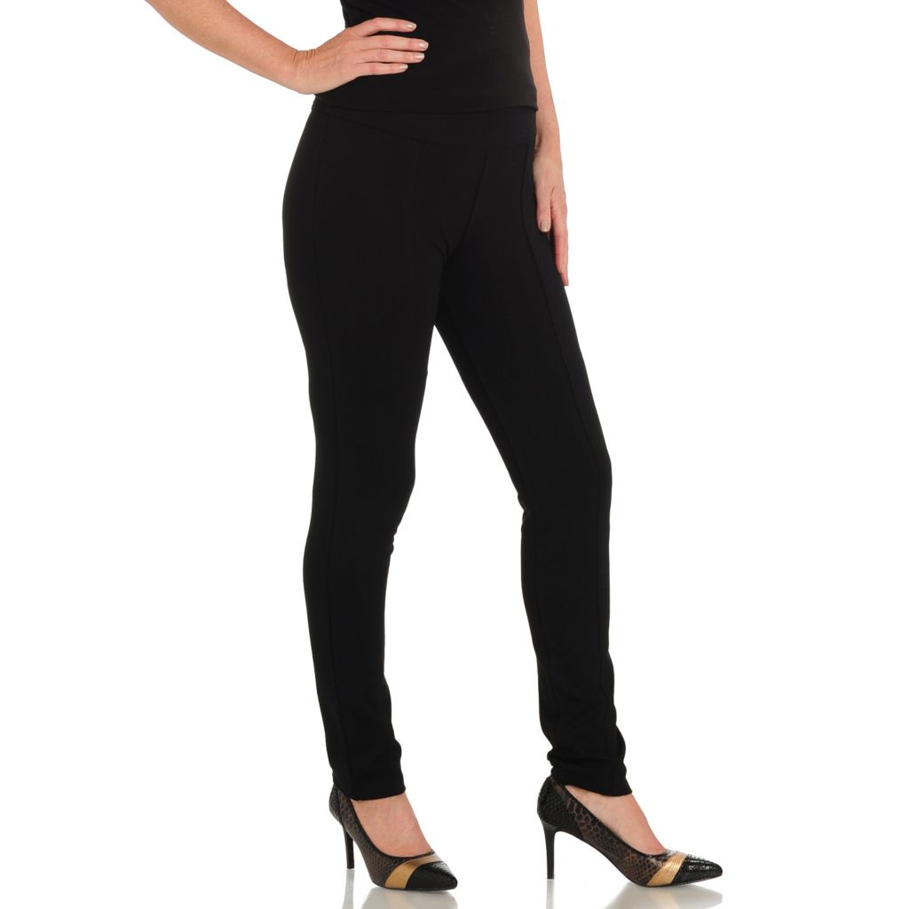 711-121 - Geneology Ponte Side Zippered Pants