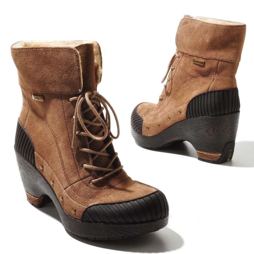 "711-366 - Jambu Leather ""Netherlands"" Short Boots"