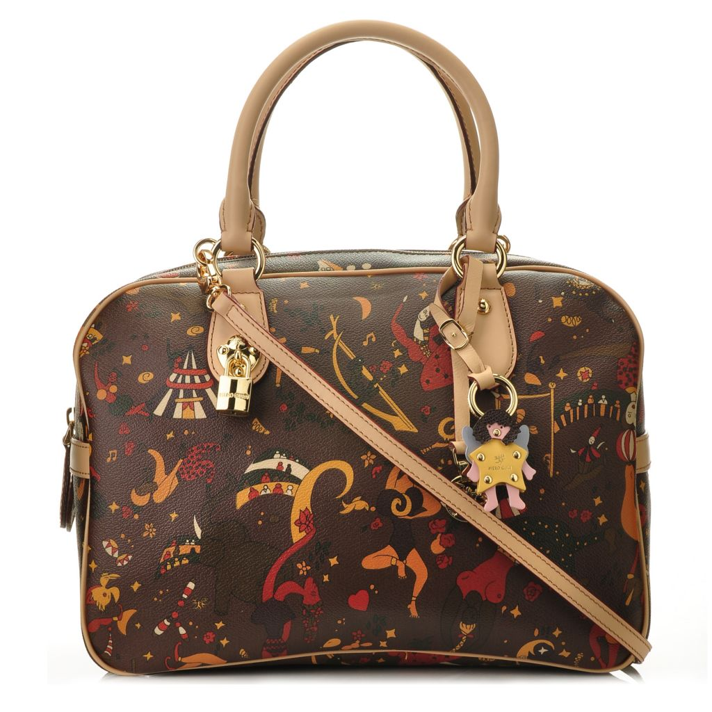 "711-400 - Piero Guidi ""Gloria"" Double Handled Satchel"