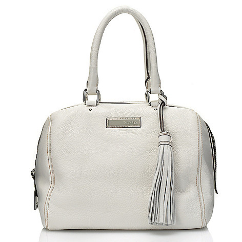711-682 - Calvin Klein Handbags Leather Satchel
