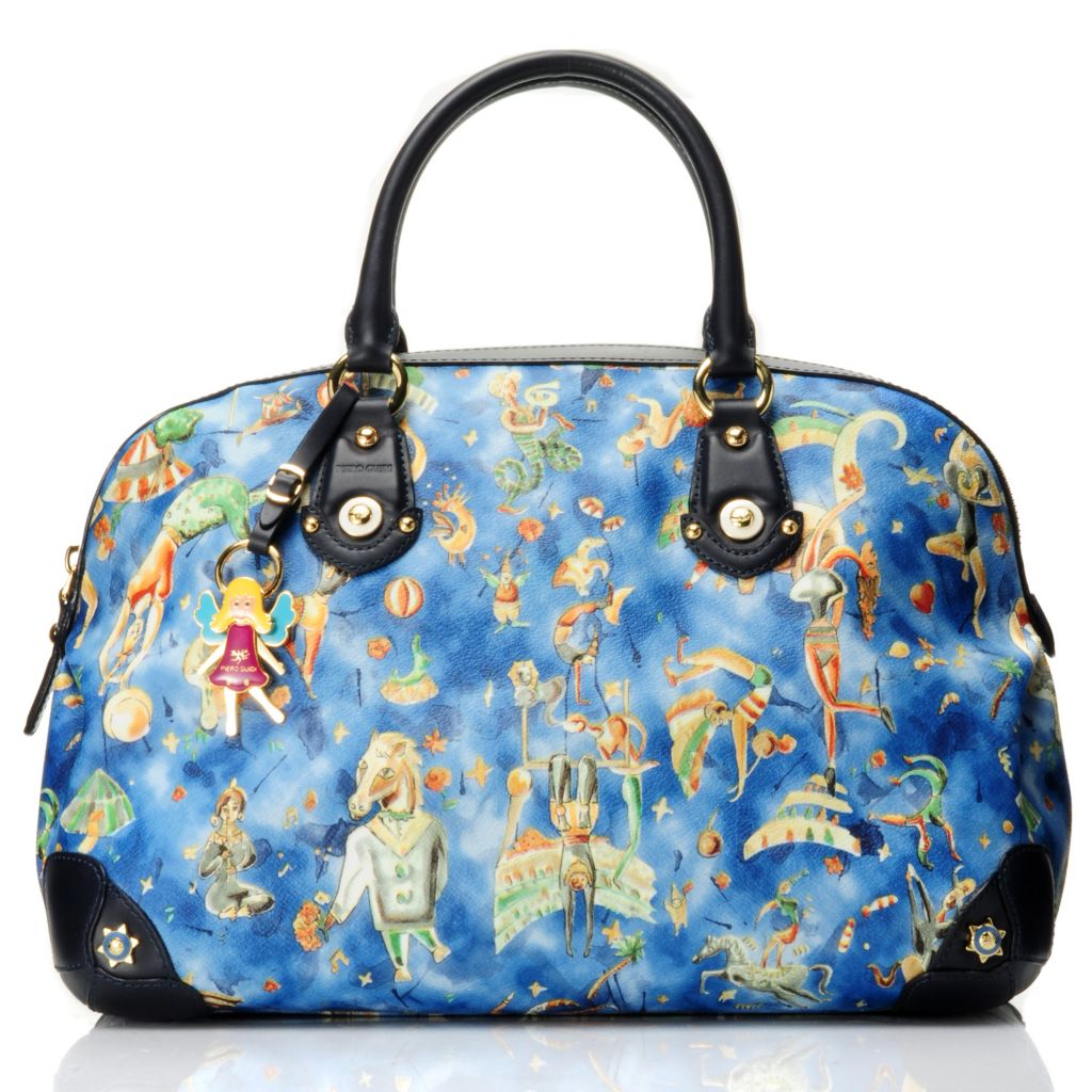712-071 - Piero Guidi Magic Circus Cherie Collection Satchel Handbag