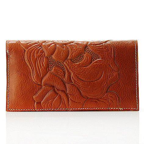 712-564 - Patricia Nash Leather Billfold Wallet