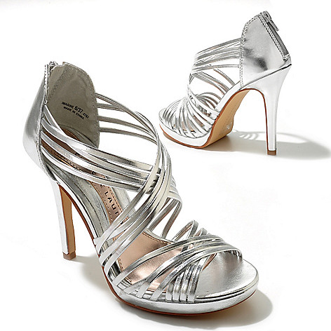 712-566 - Chinese Laundry ''Imagine'' Strappy Metallic Dress Sandals