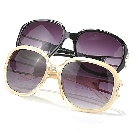 712-595 - Art Wear Set of Two Beige & Black Bifocal Sun Readers