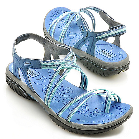 712-613 - Jambu Memory Foam Strappy Toe Loop Sport Sandals