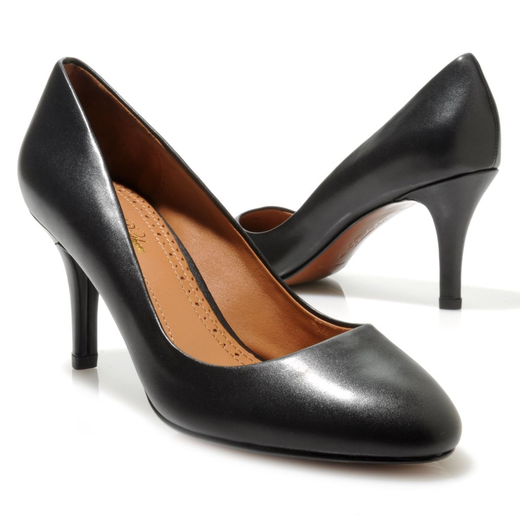 712-695 - Brooks Brothers® Leather Classic Pumps