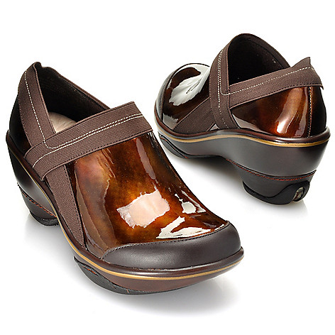712-714 - Jambu Patent Leather ''Cali Marble'' Slip-on Clogs