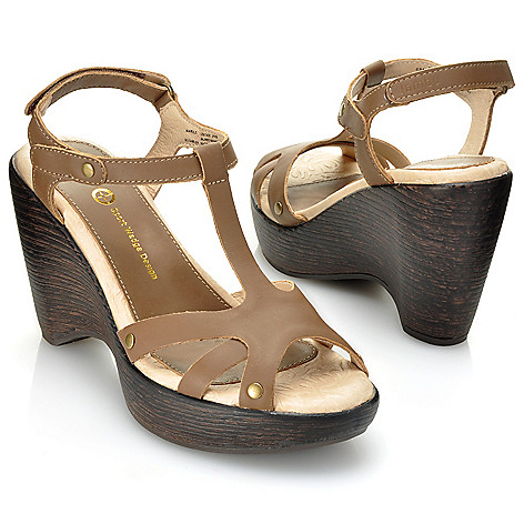 712-715 - Jambu ''Marble'' Strappy Open Toe Wedge Sandals