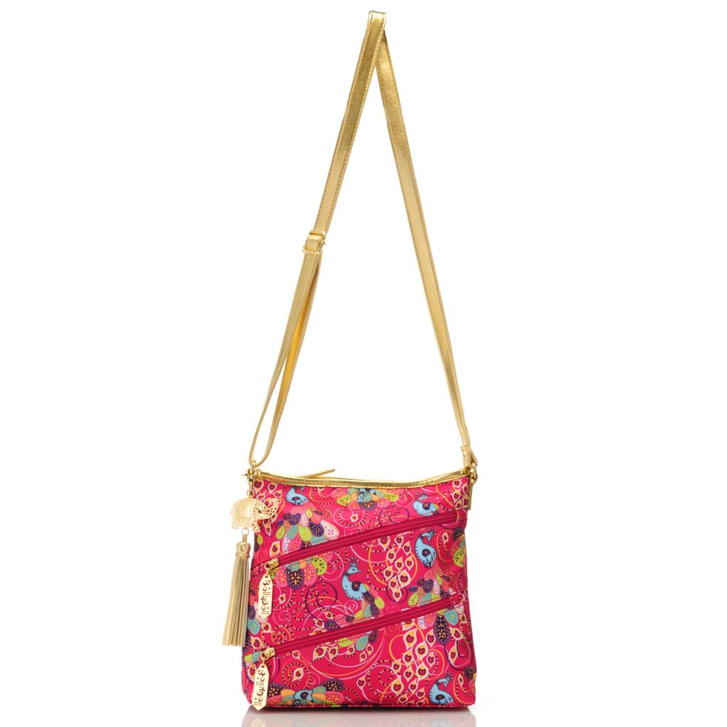712-764 - BollyDoll™ Printed Zip Top Cross Body Bag