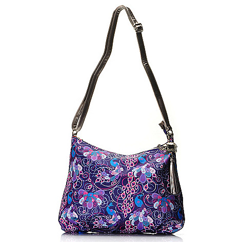 712-765 - BollyDoll™ Printed Large Zip Top Cross Body Bag