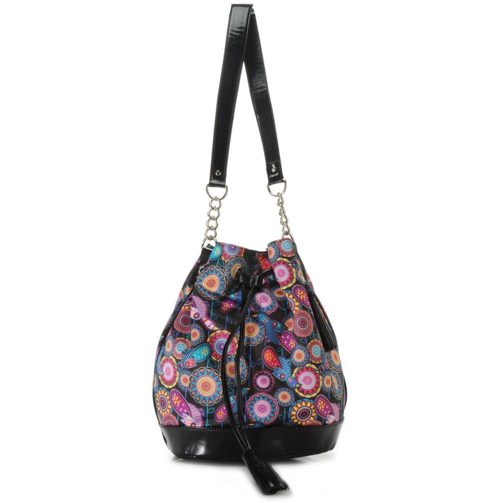 712-766 - BollyDoll™ Printed Draw String Bucket Bag