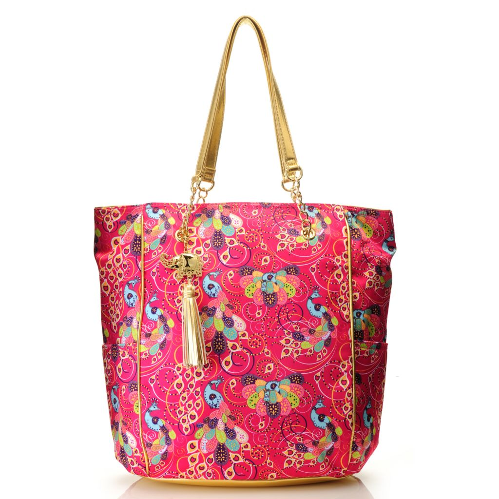 712-767 - BollyDoll™ Printed Double Handle Large Tote Bag