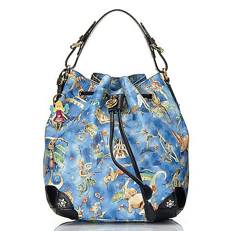 712-831 - Piero Guidi Magic Circus Cherie Collection Drawstring Bucket Bag