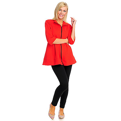 712-882 - OSO Casuals French Terry Zip Front Jacket & Leggings Set