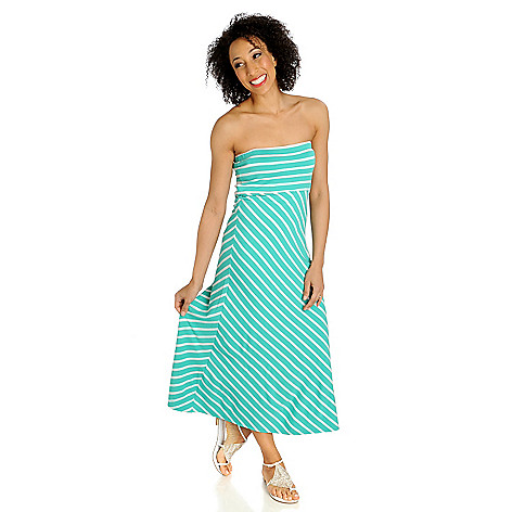 712-959 - aDRESSing WOMAN Stretch Knit Strapless Convertible Dress & Skirt