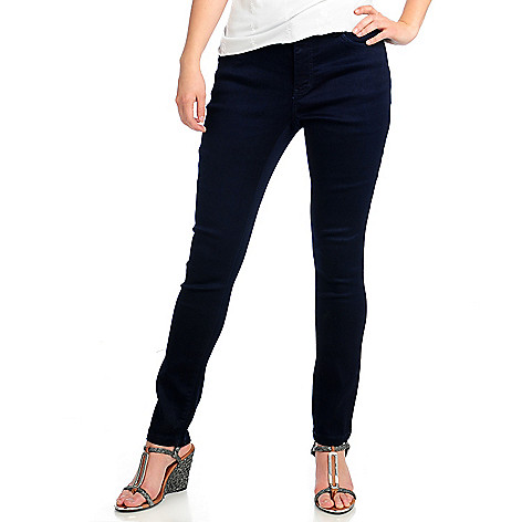 713-140 - OSO Casuals™ Stretch Sateen Zip Closure Five-Pocket Slim Leg Pants