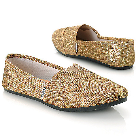 713-142 - Corkys Glittery Slip-on Shoes
