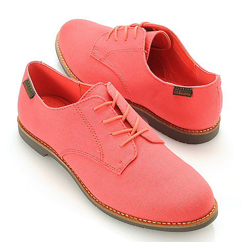 713-253 - Bass Footwear Canvas ''Ely-2'' Lace-up Oxfords