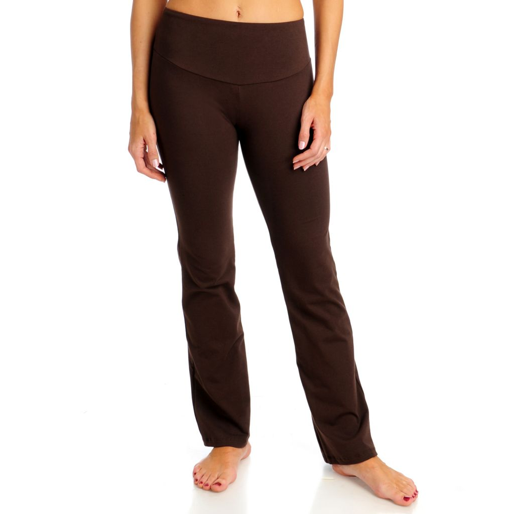 713-272 - Pant-O-Rama Stretch Knit Control Top Pull-on Yoga Pants