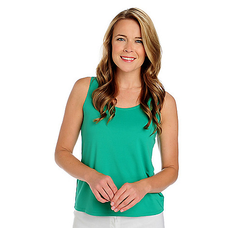 713-521 - Kate & Mallory Stretch Knit Scoop Neck Tank Top