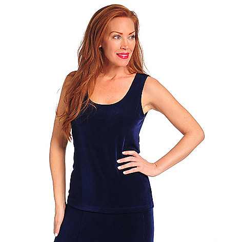 713-614 - Affinity Travel Knits™ Sleeveless Scoop Neck Solid Tank Top