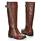 713-636 - Matisse® Leather Buckle Detailed Side Zip Riding Boots
