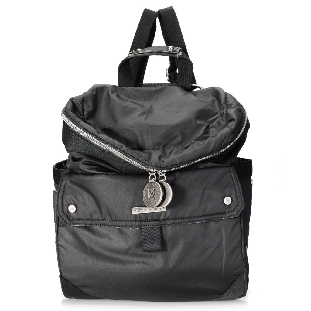 713-706 - Musen Albert Zip Top Convertible Backpack or Cross Body Bag