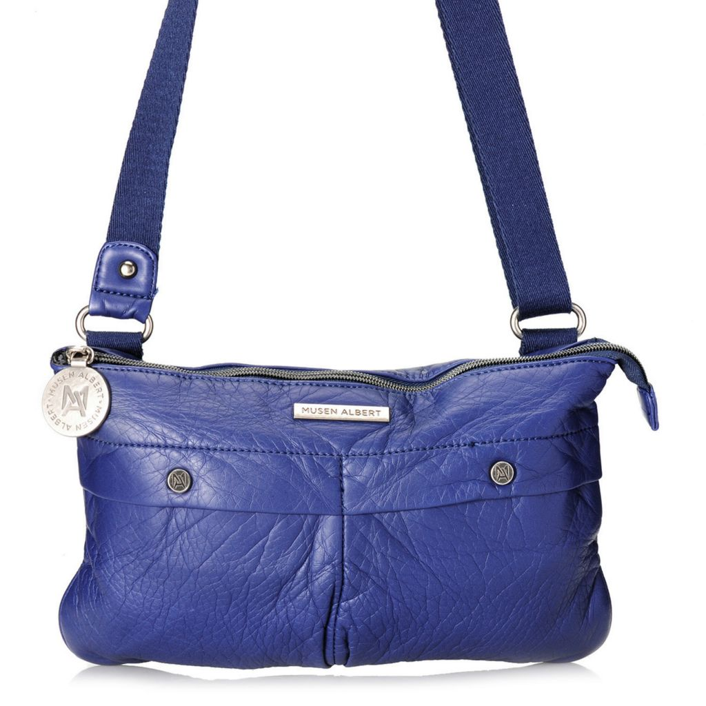 713-710 - Musen Albert Zip Top Convertible Clutch or Cross Body Bag