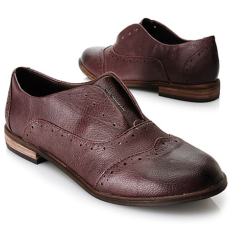 713-724 - Matisse® Perforated Detail Oxford Shoes