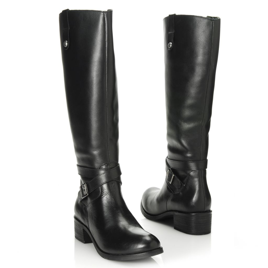 713-737 - Matisse® Leather Buckle Detailed Tall Boots