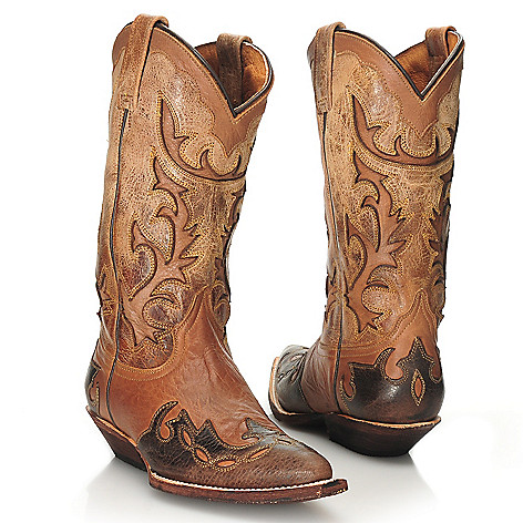 713-743 - Matisse® Leather Cut-out Design Western Boots