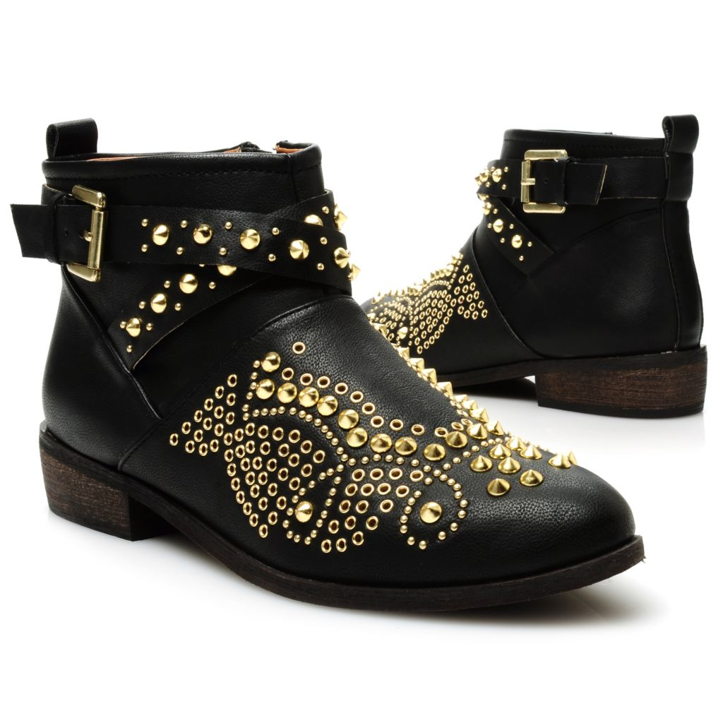 713-750 - Matisse® Studded Side Zip Short Boots